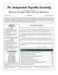 Independent Republic Quarterly, 2011, Vol. 45, No. 2 by Horry County Historical Society