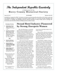Independent Republic Quarterly, 2011, Vol. 45, No. 3 by Horry County Historical Society