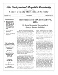 Independent Republic Quarterly, 2015, Vol. 49, No. 1-4 by Horry County Historical Society
