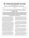 Independent Republic Quarterly, 2016, Vol. 50, No. 1-4 by Horry County Historical Society