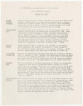 Coastal Carolina College Mid-Week Memo, 1978-10-18 by USC Coastal Carolina College and Coastal Carolina University