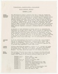 Coastal Carolina College Mid-Week Memo, 1978-11-01 by USC Coastal Carolina College and Coastal Carolina University