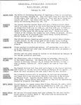 Coastal Carolina College Mid-Week Memo, 1978-02-22