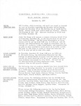 Coastal Carolina College Mid-Week Memo, 1977-11-09