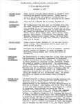 Coastal Carolina College Mid-Week Memo, 1976-12-08