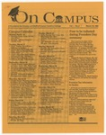On Campus, March 16, 1992