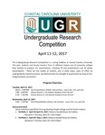 2017 Undergraduate Research Competition Program by Coastal Carolina University