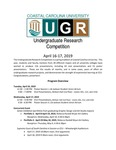 2019 Undergraduate Research Competition Program by Coastal Carolina University